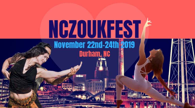 NCZF 2019 flyer with Evelyn, Derrick, and Umka